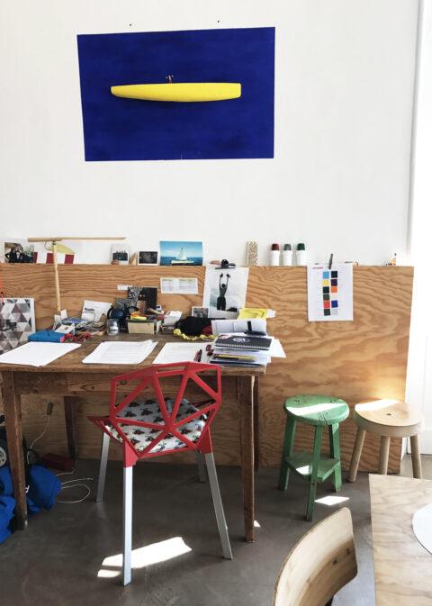 Antoine Boudin studio