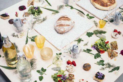 Atelier LUMA banquet, on the occasion of LUMA Days #2 (2018), © LUMA Arles