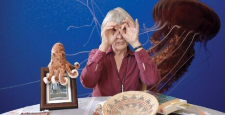 Image extraite de « Donna Haraway, Story Telling for Earthly Survival », documentaire de Fabrizio Terranova (2016)