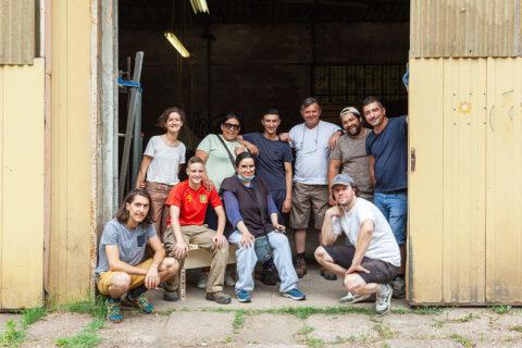 TEDAC and Atelier LUMA teams, © Léo Dumont