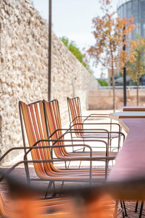 La terrasse du Réfectoire, © Adrian Deweerdt